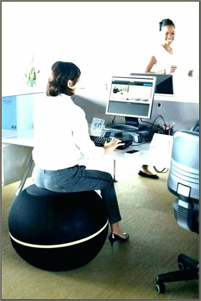 Stability Ball Desk Chair