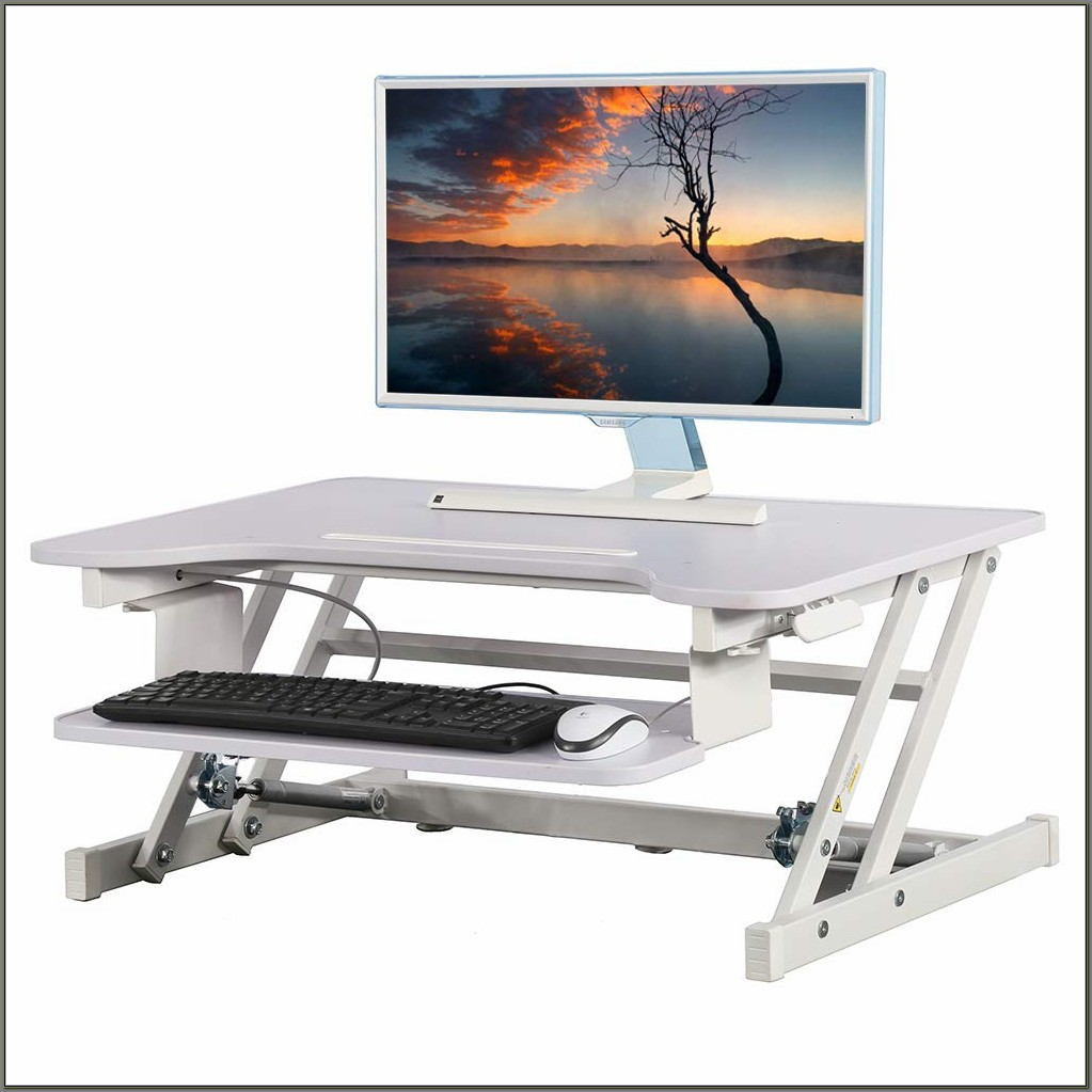 Stand Up Desk Adjustable Keyboard Tray