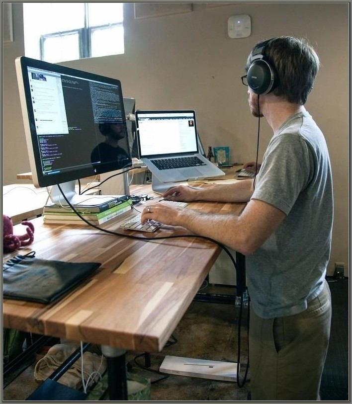 Stand Up Desk Converter Diy
