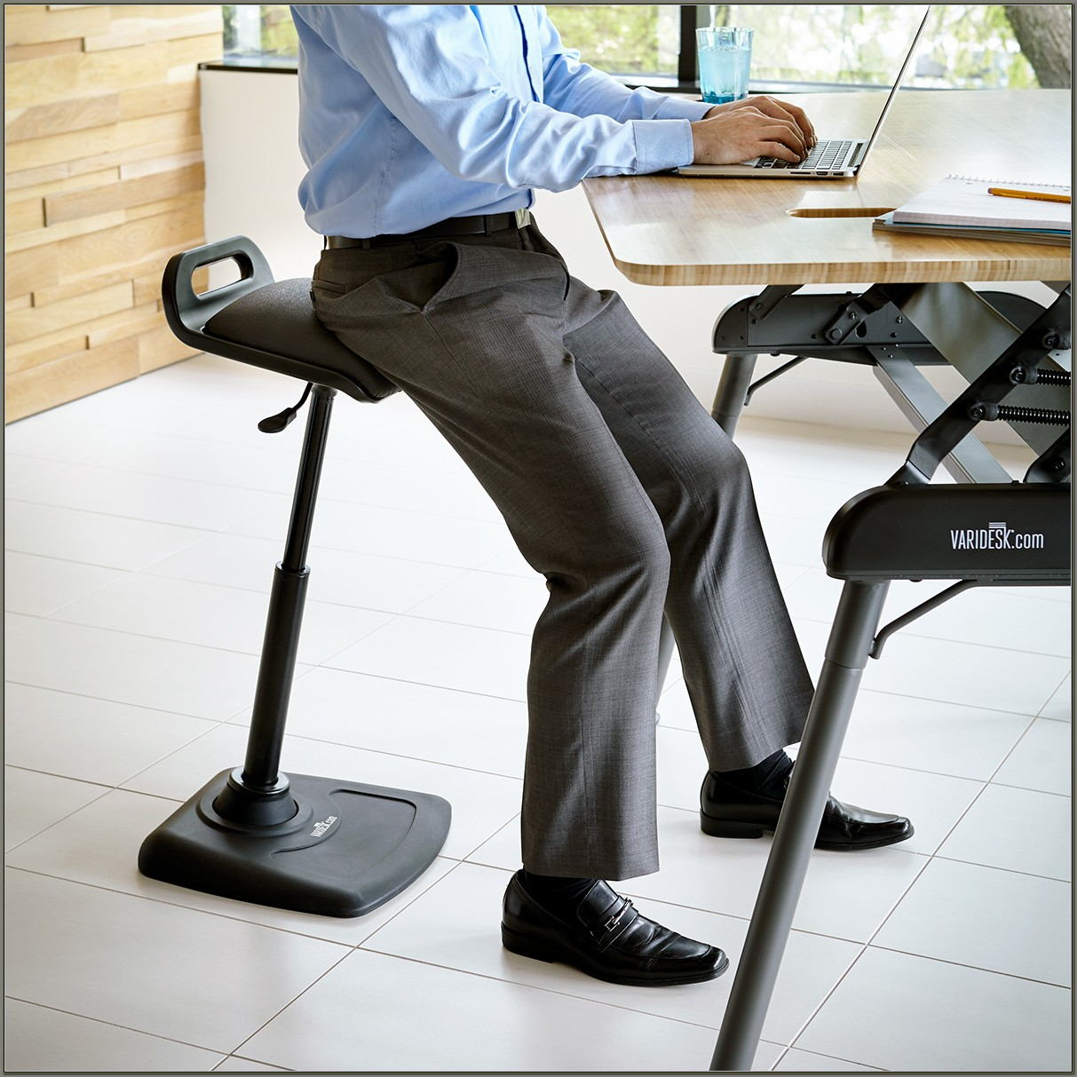 Standing Desk And Chair