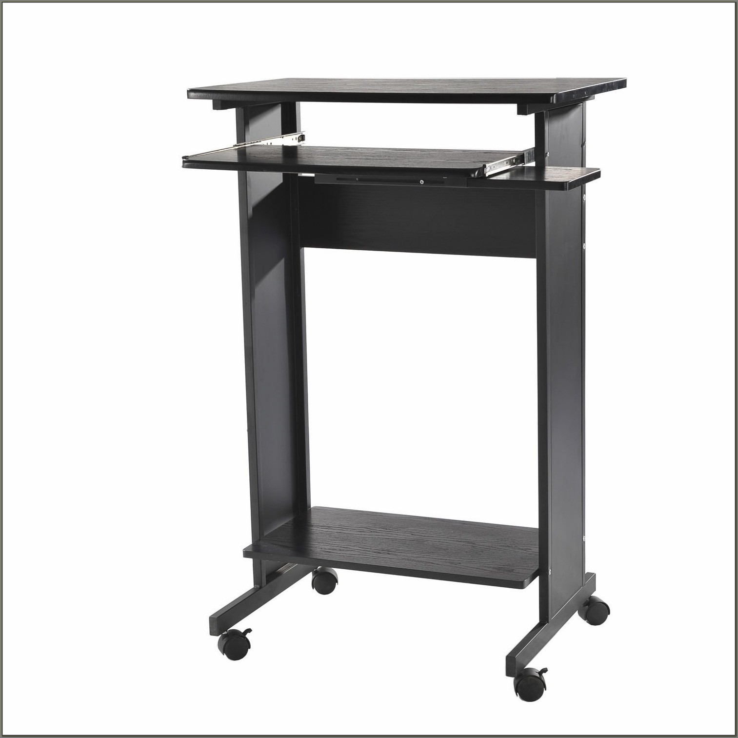 Standing Laptop Desk On Wheels