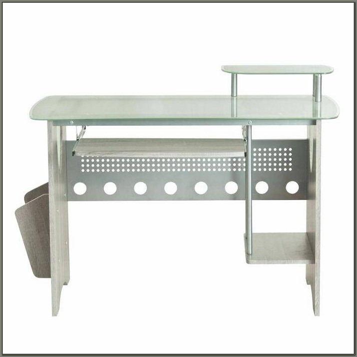 Staples Glass Top Desk
