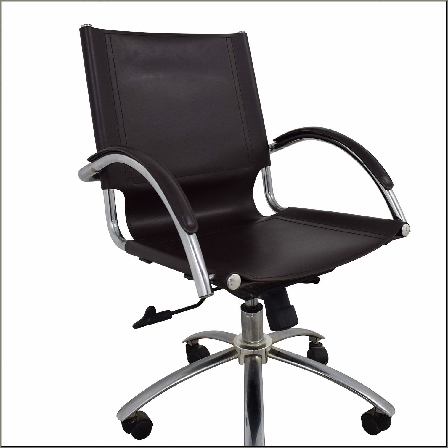 Swivel Leather Desk Chair West Elm