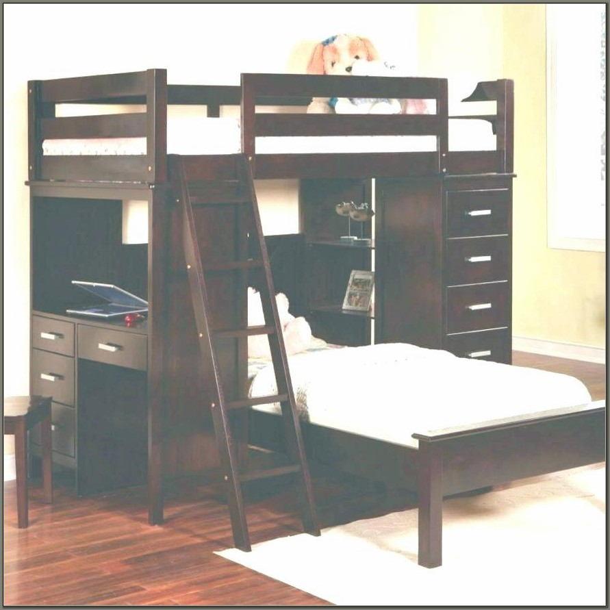Top Bunk Bed With Desk Underneath