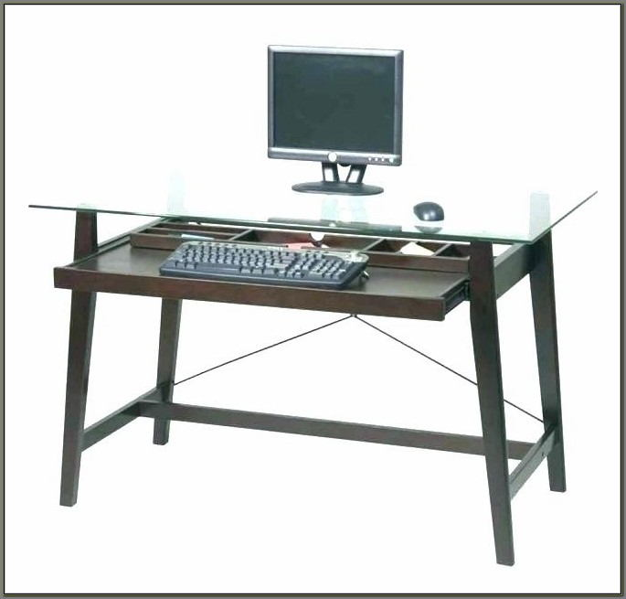 Tresanti Tech Desk Tempered Glass Top