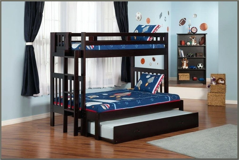 Trundle Bunk Bed With Desk Instructions