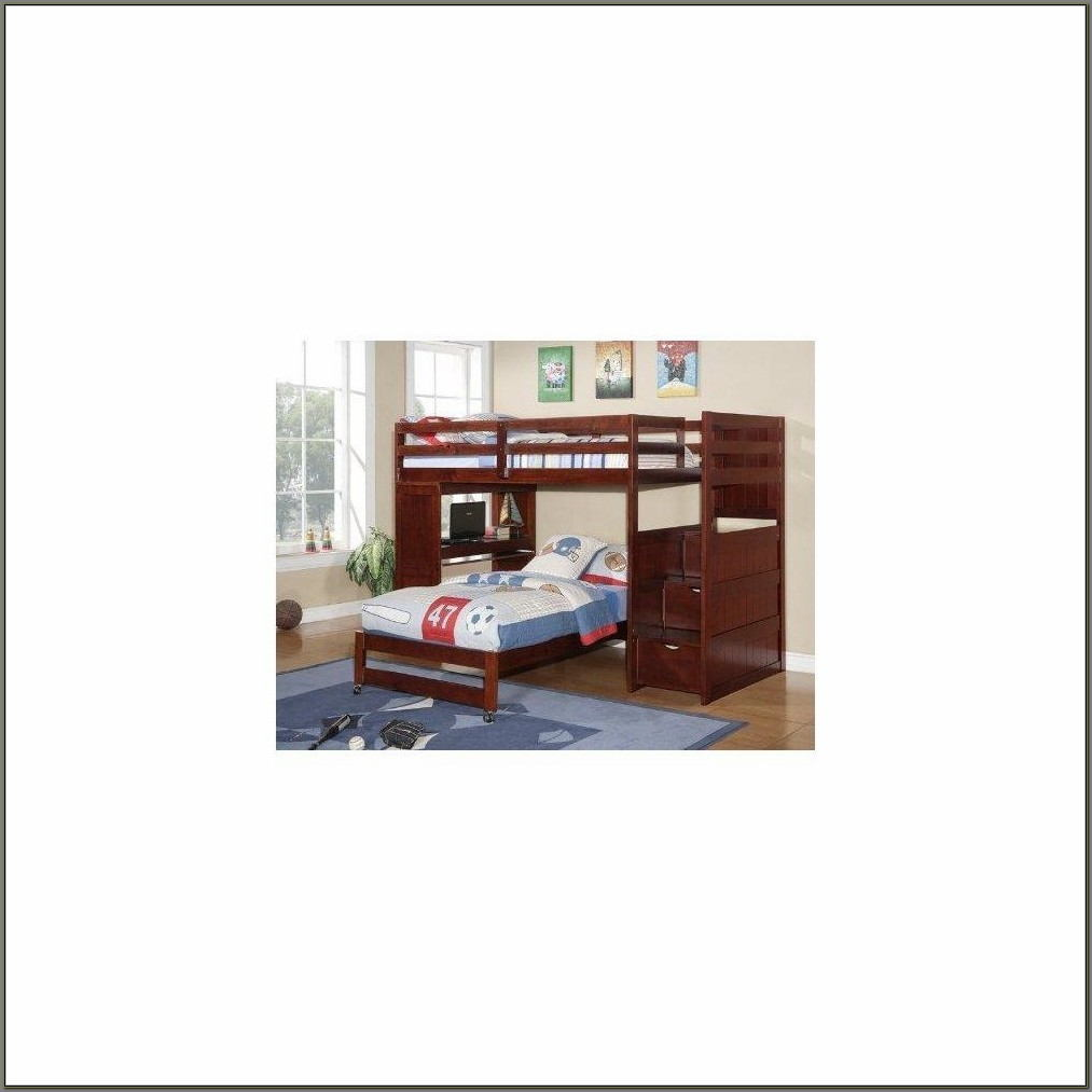 Twin Loft Bed With Desk Walmart