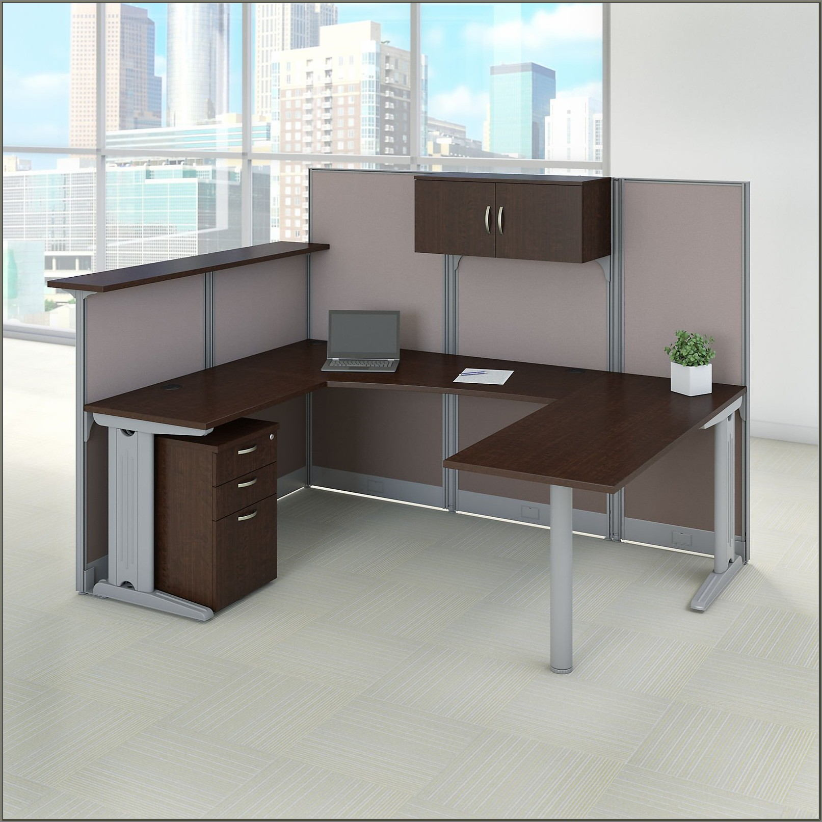 U Shaped Reception Desk Furniture