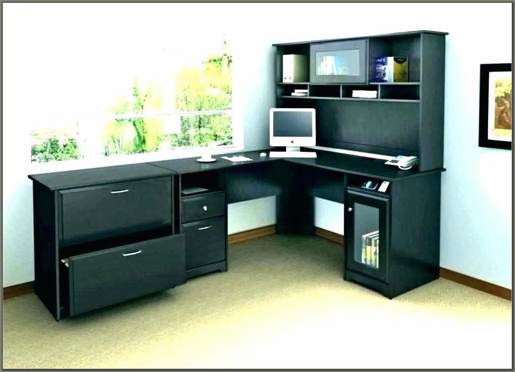 U Shaped Reception Desk With Hutch