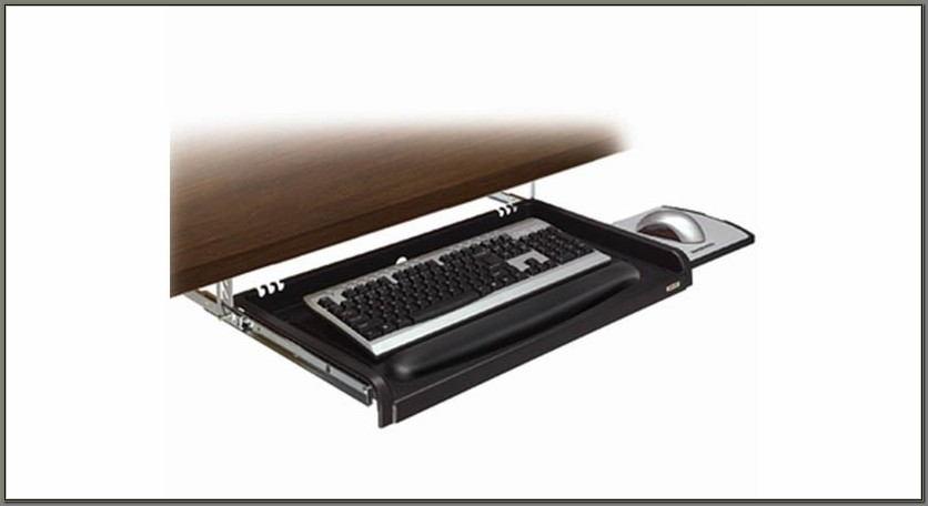 Under Desk Keyboard Drawer