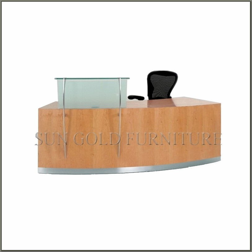 Used Office Reception Desk