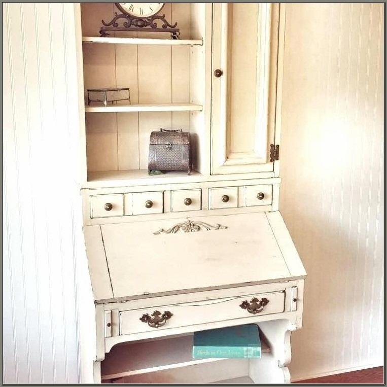 Vintage Secretary Desk With Hutch