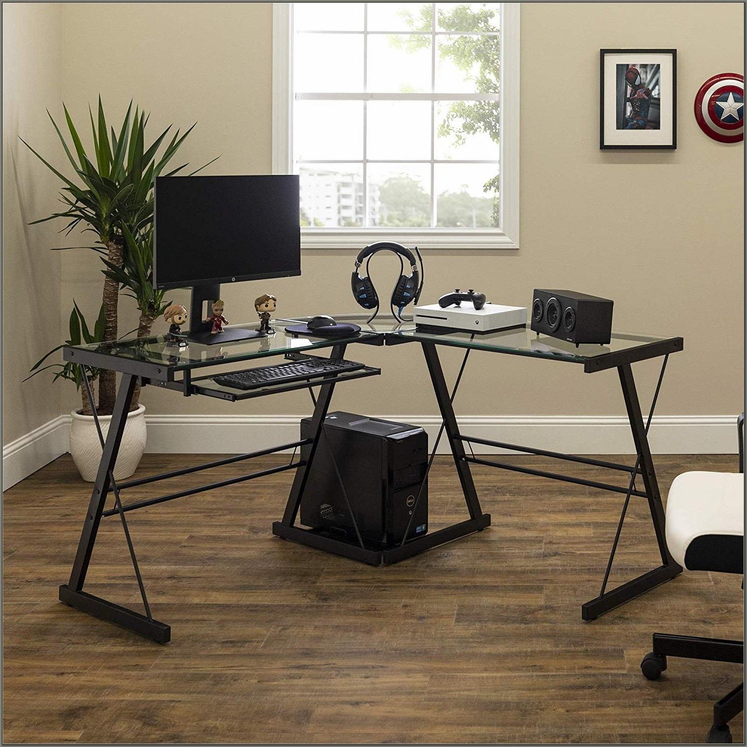 Walker Edison 3 Piece Contemporary Desk Multi