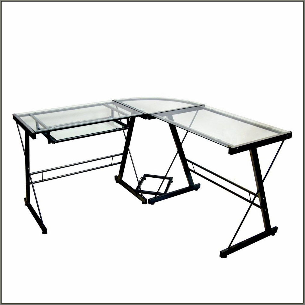 Walker Edison 3 Piece Contemporary Desk