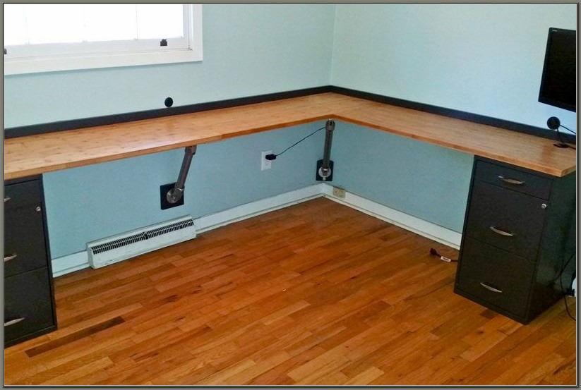 Wall Mounted Corner Desk Diy