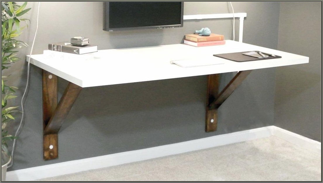 Wall Mounted Corner Desk Plans