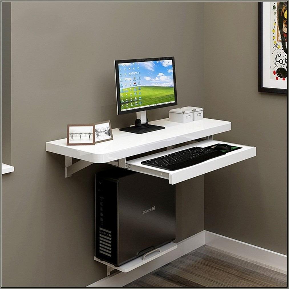 Wall Mounted Pc Desk
