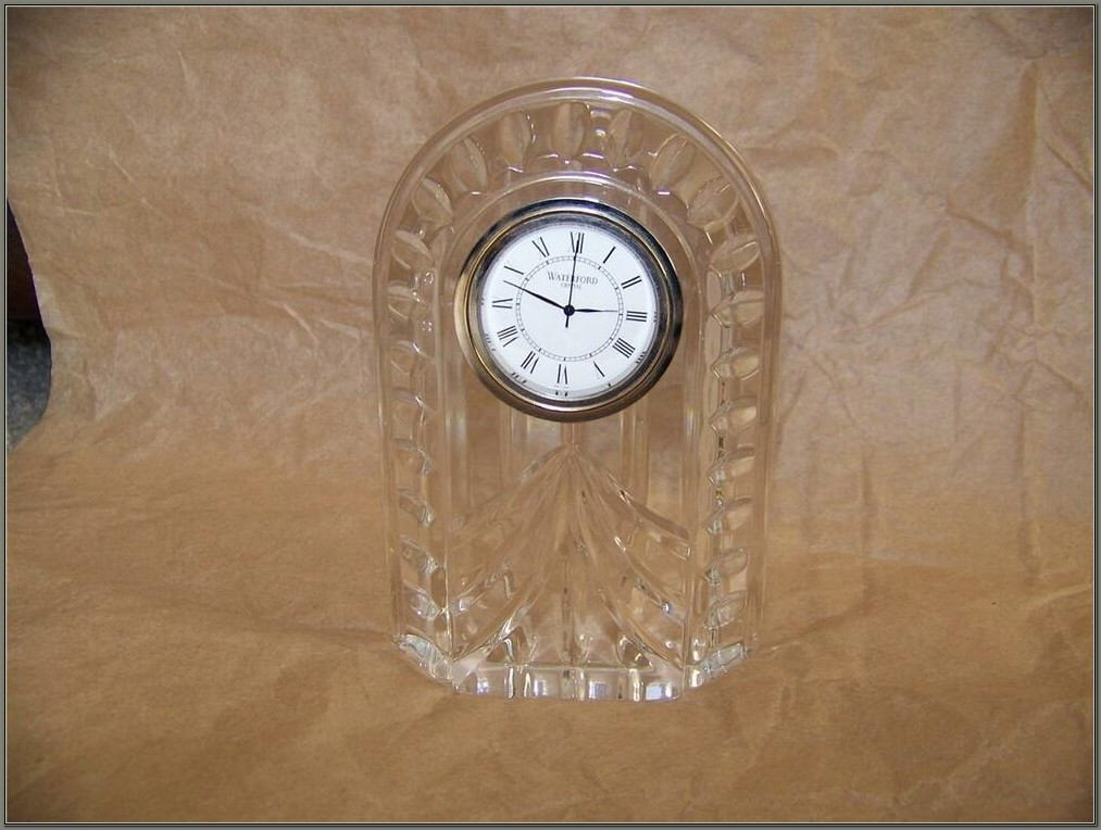 Waterford Crystal Desk Clock Battery