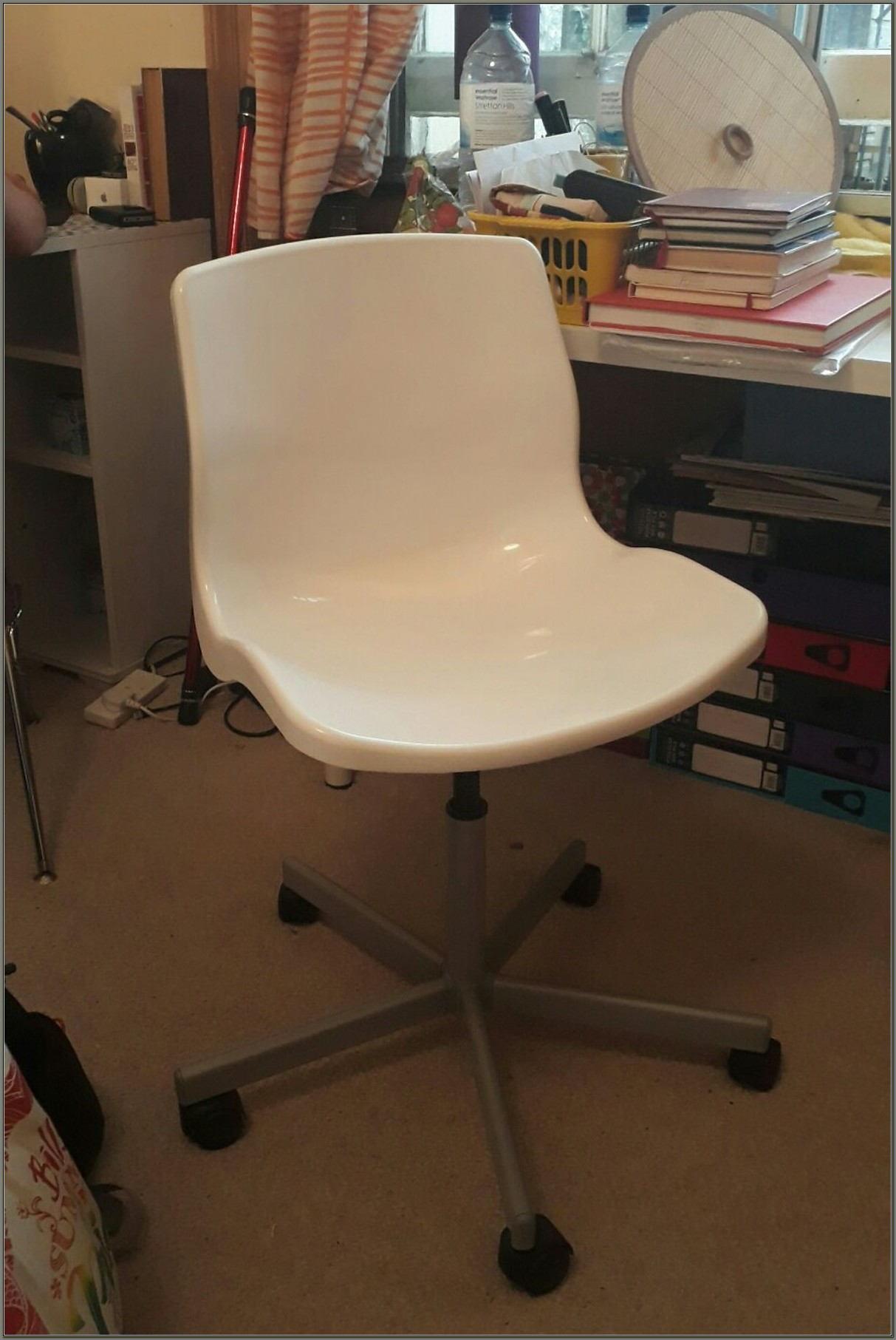 White Swivel Desk Chair Ikea
