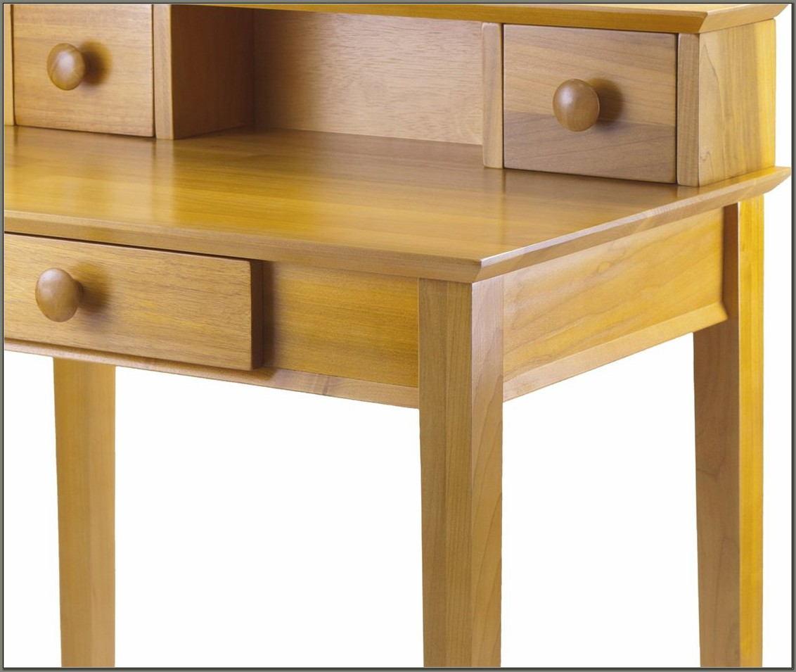 Winsome Wood Writing Desk Honey