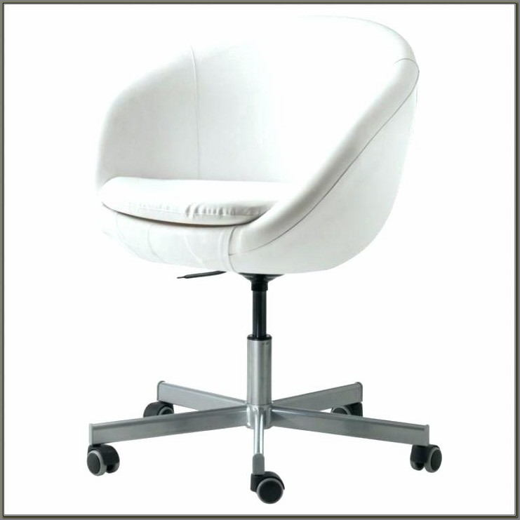 Wood Swivel Desk Chair With Arms