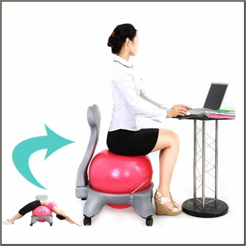 Yoga Ball Chair Frame Chairs Home Design Ideas D4zwwgmzll