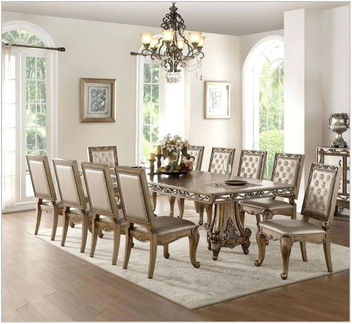 11 Piece Formal Dining Room Set