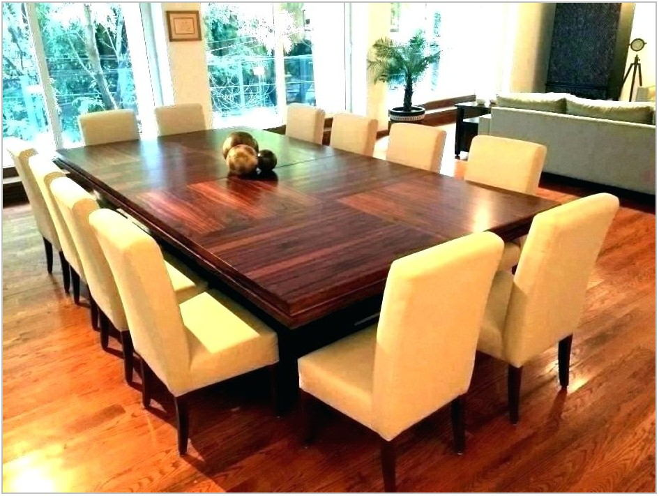 12 Person Square Dining Room Table