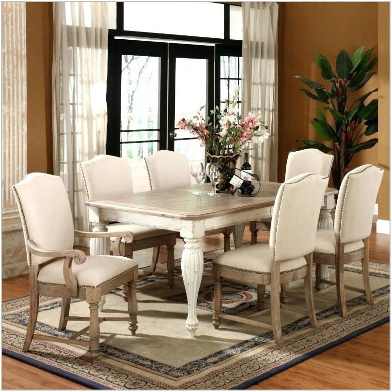 2 Toned Dining Room Table