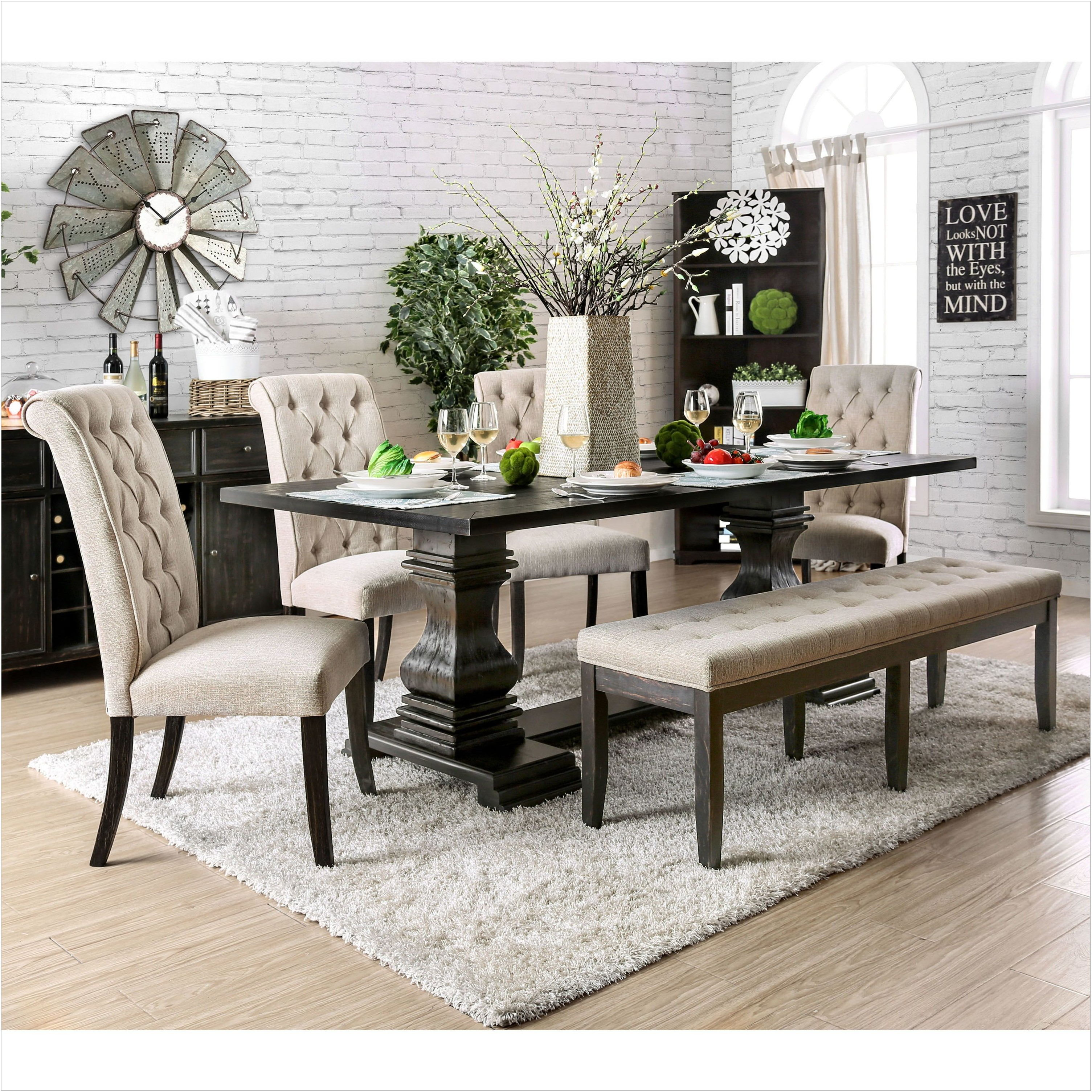 84 Inch Dining Room Table