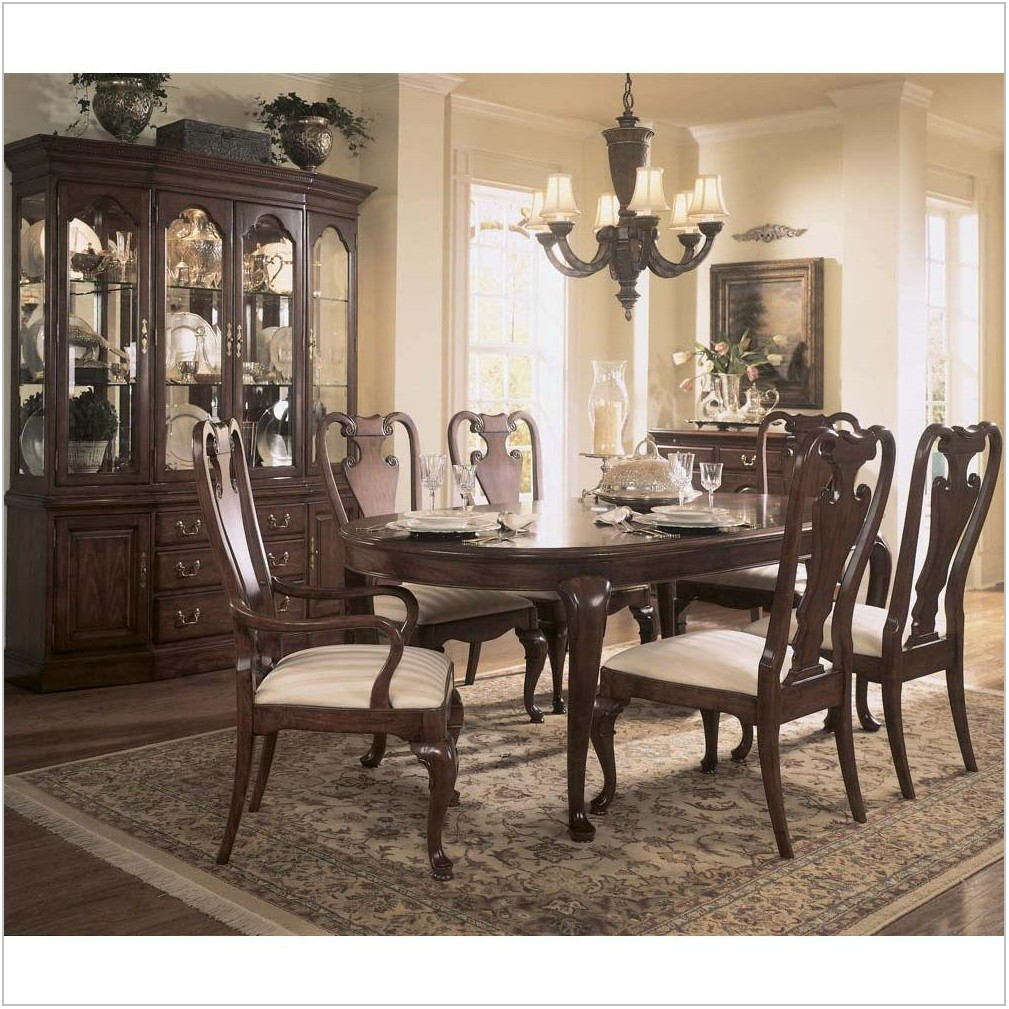 9 Piece Cherry Dining Room Set