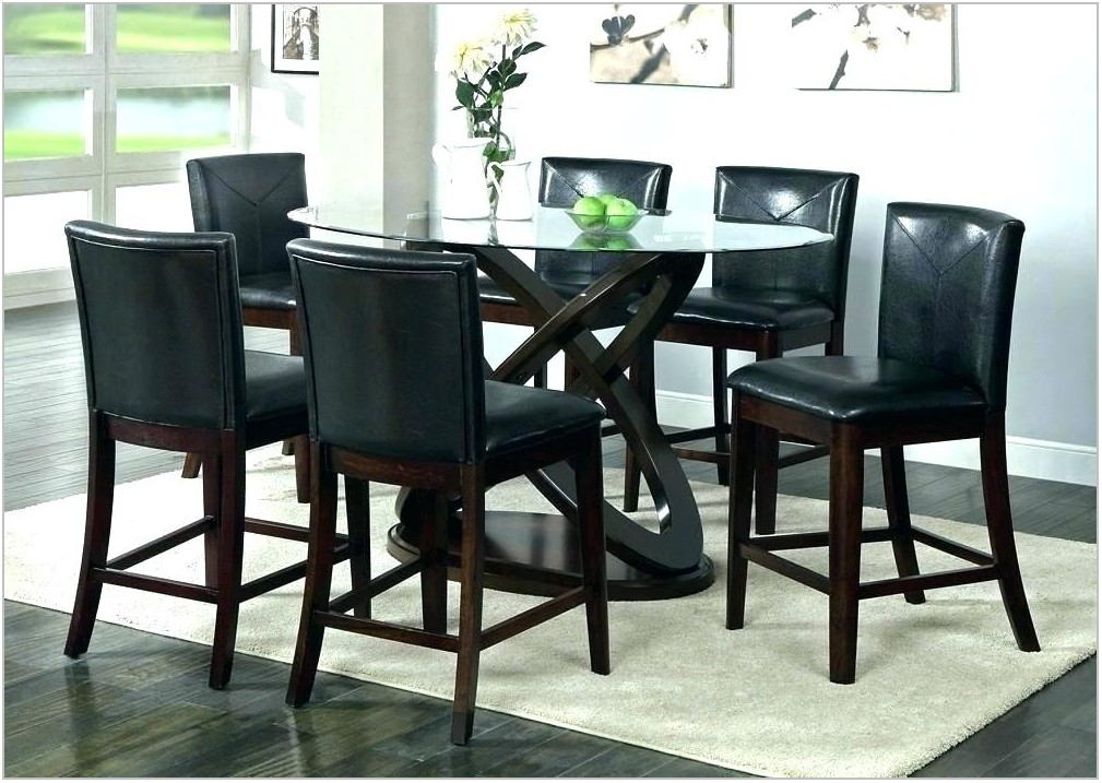 9 Piece Counter Height Dining Room Set