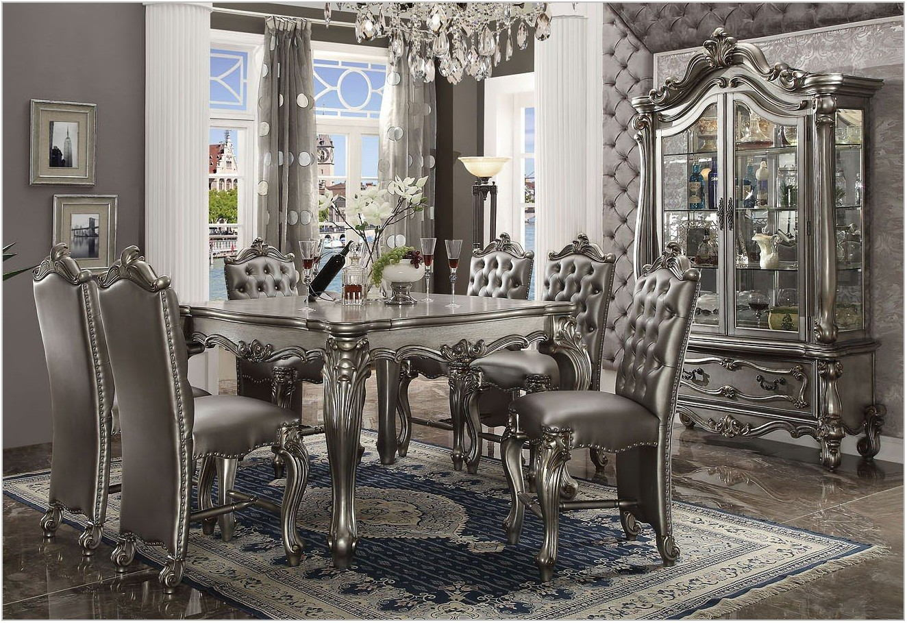 Acme Versailles Dining Room Set