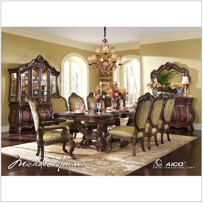 Aico Chateau Beauvais Dining Room Set