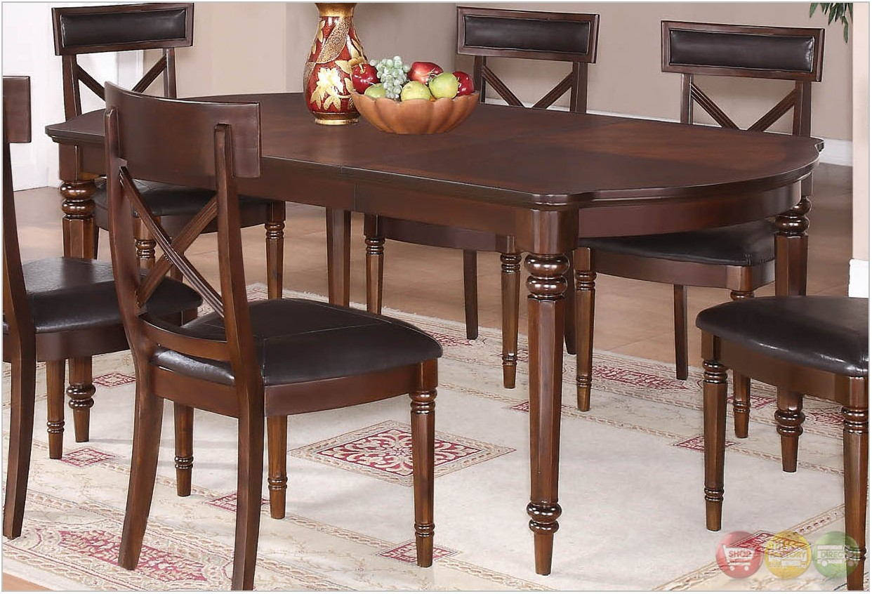 All Wood Dining Room Sets