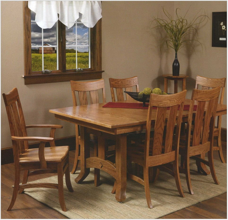 Amish Built Dining Room Tables