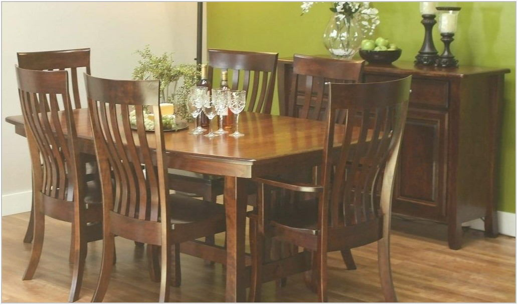 Amish Made Dining Room Table Sets
