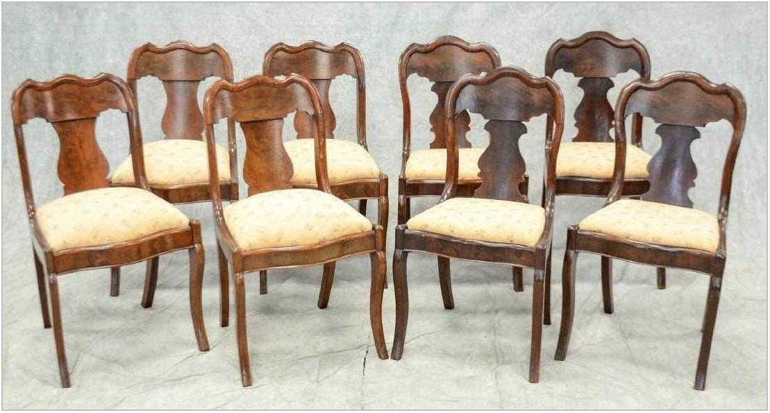 Antique Dining Room Chairs Mahogany