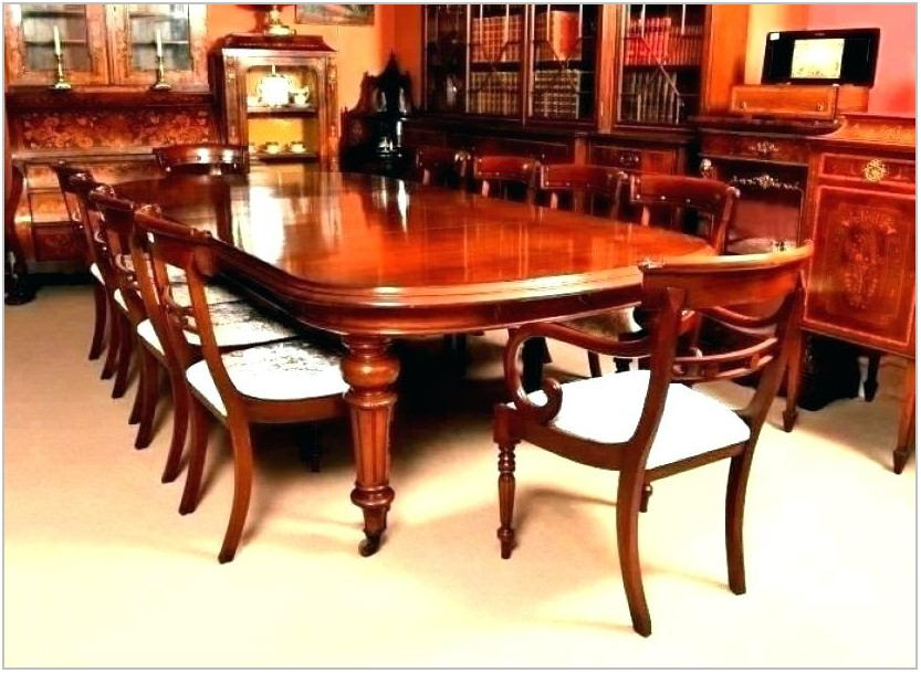 Antique Wood Dining Room Tables