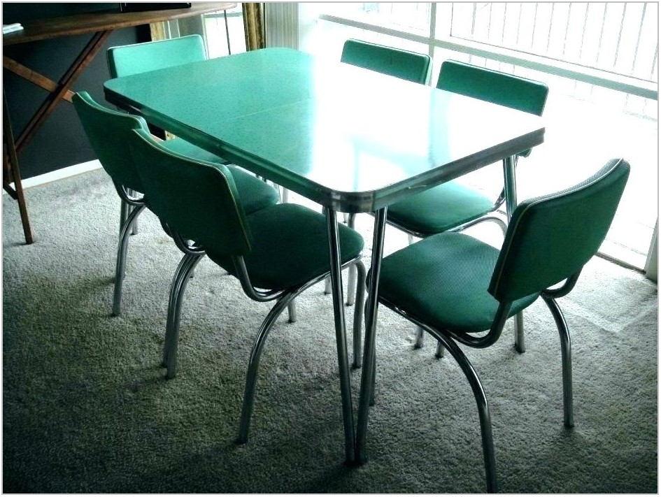 Antoine Chrome Dining Room Set