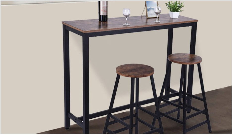 Bar Style Dining Room Table