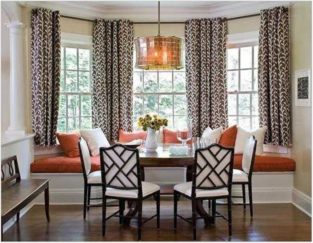 Bay Window Ideas Dining Room