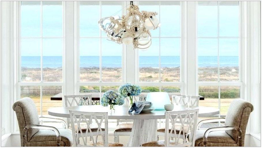 Beach Themed Dining Room Table