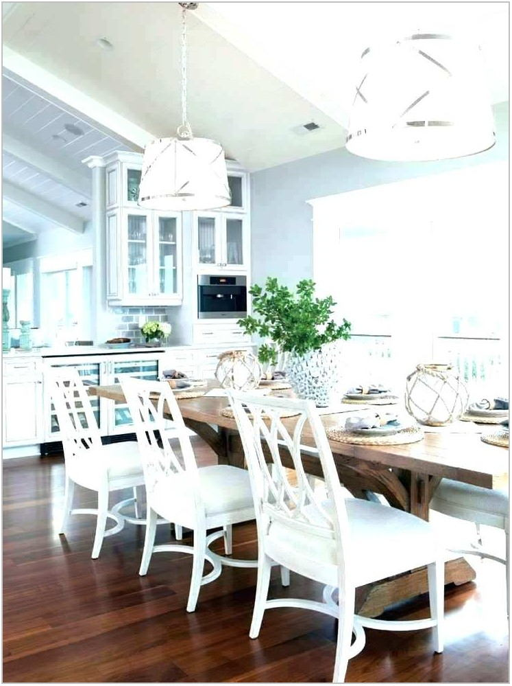 Beachy Dining Room Chandelier