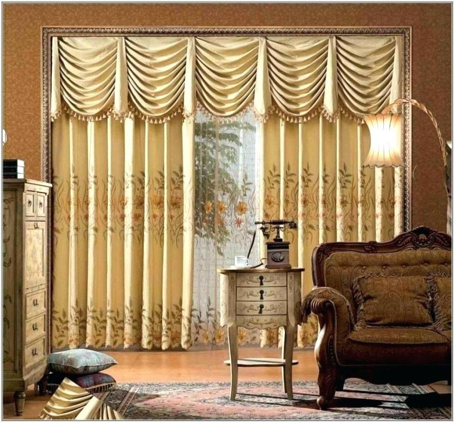 Beautiful Drapes For Dining Room
