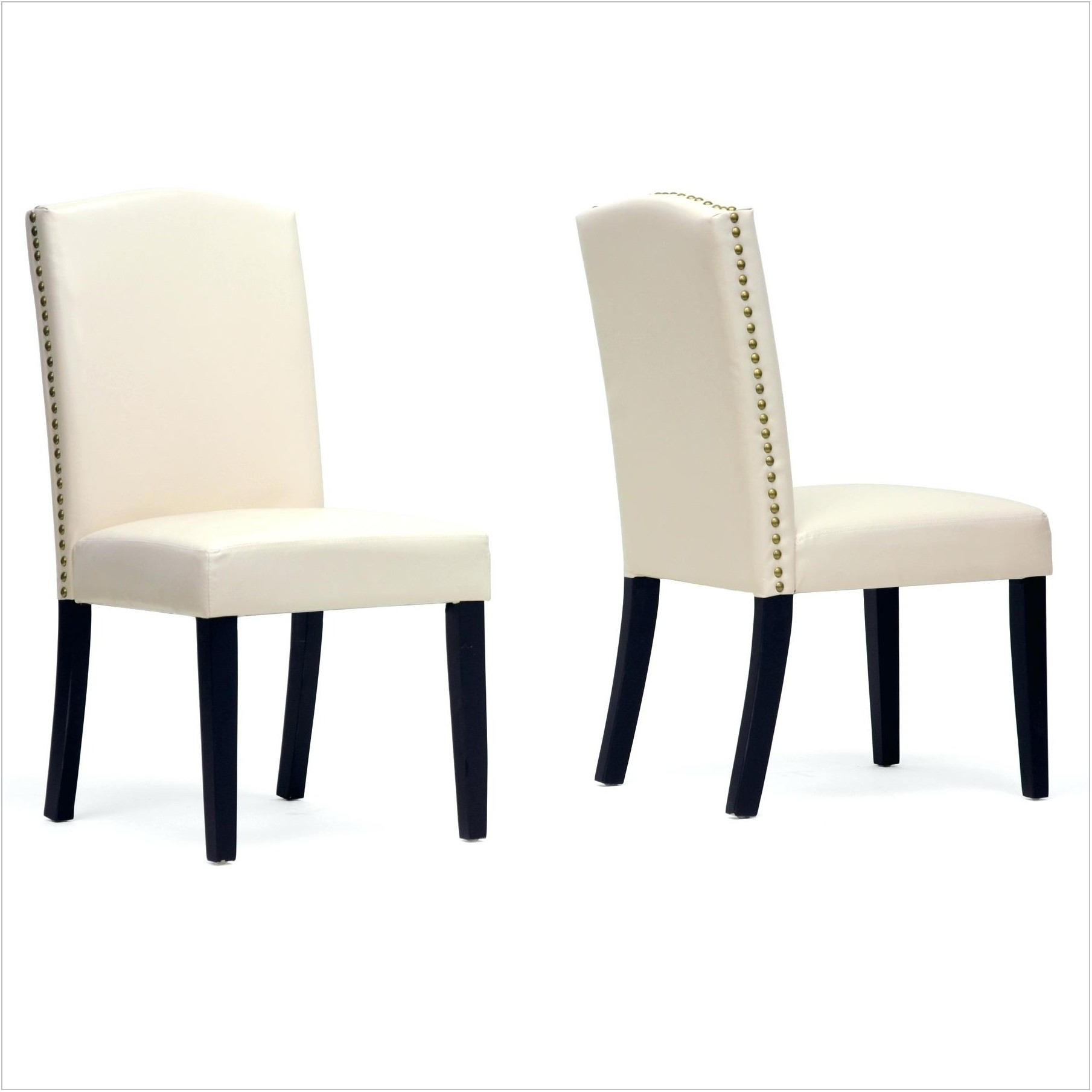 Beige Upholstered Dining Room Chairs