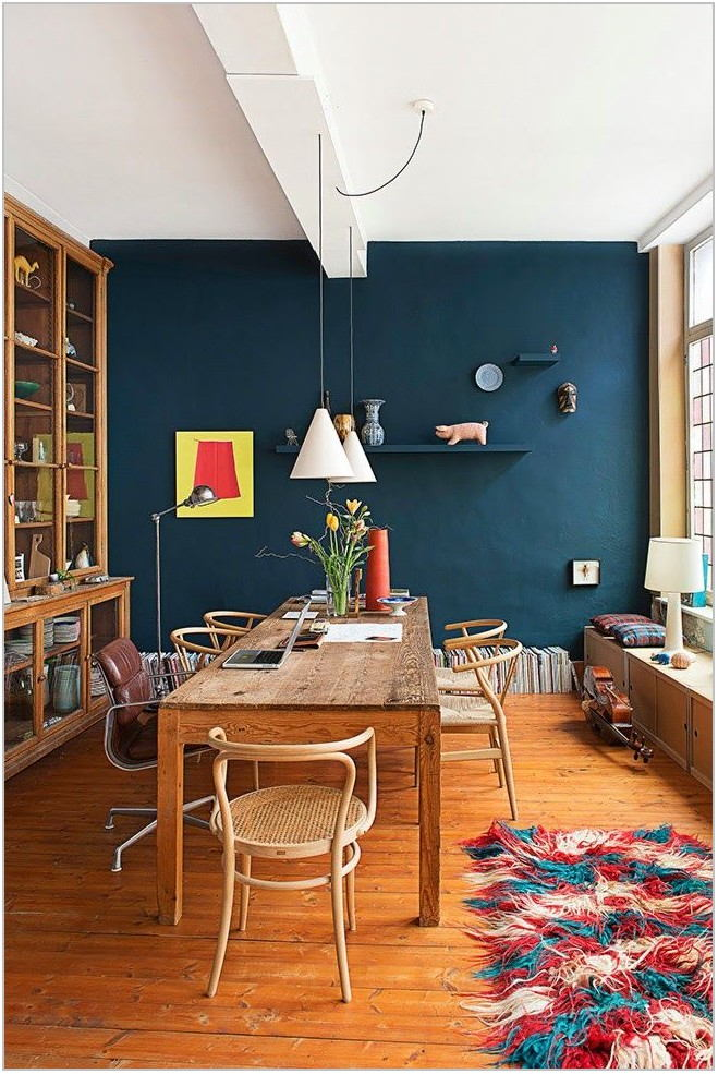 Best Blue Paint For Dining Room