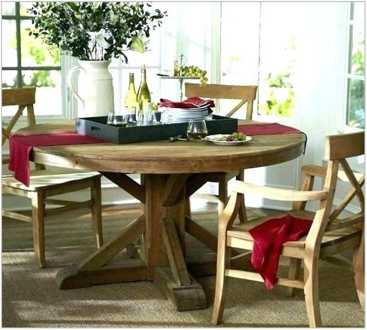 Big Round Dining Room Table