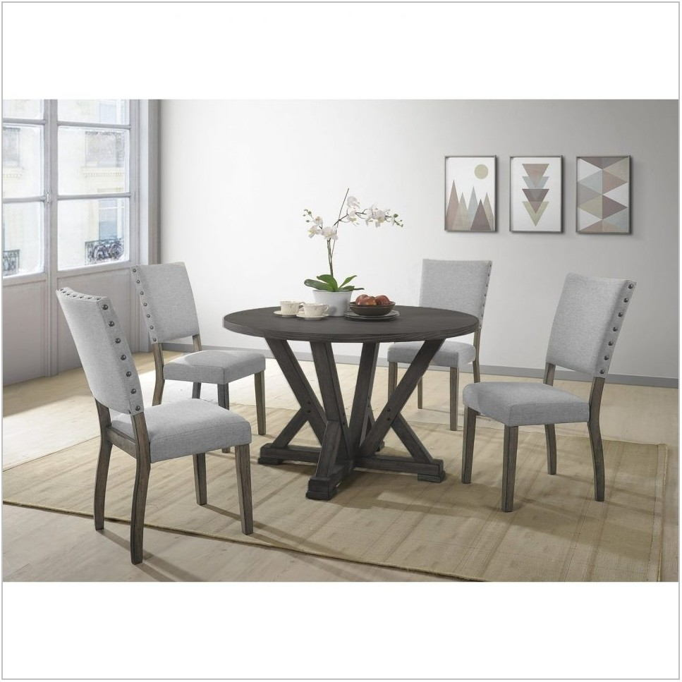 Black And Grey Dining Room Set