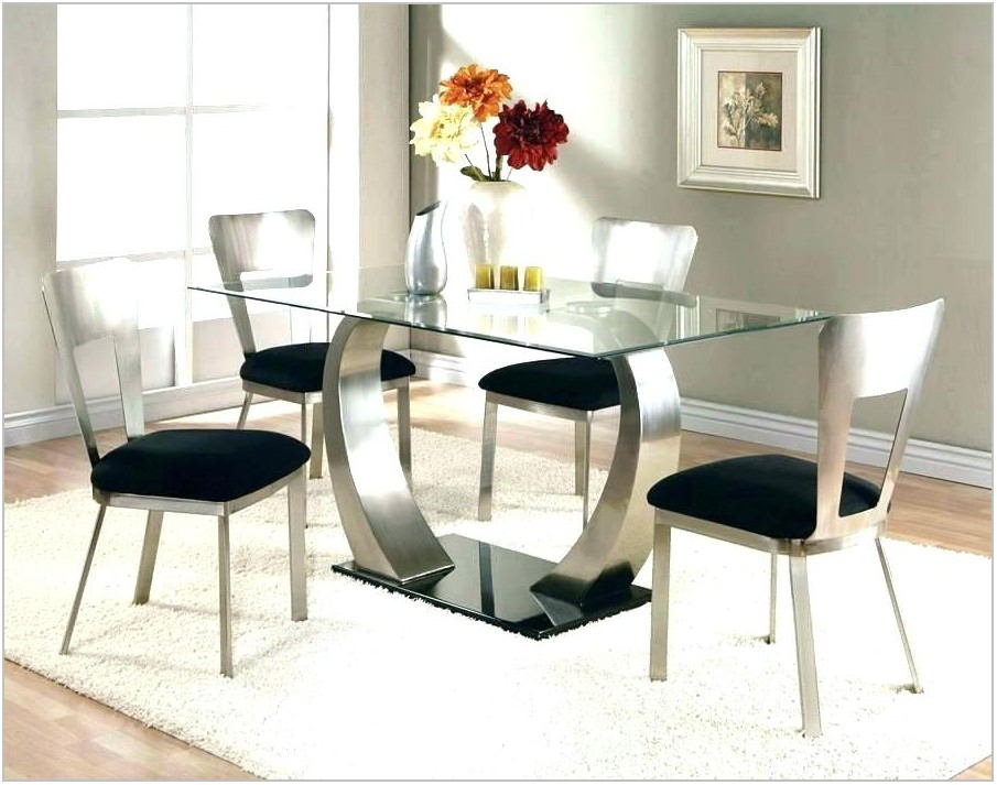 Black Contemporary Dining Room Sets
